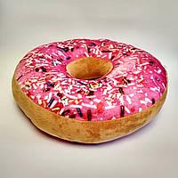 Игрушка-подушка 3Д Пончик антистресс (6 видов)