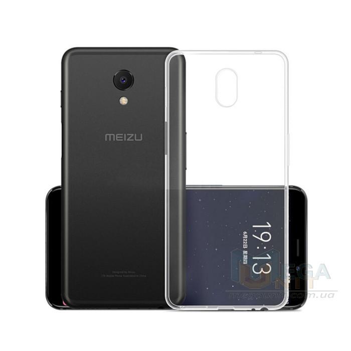 Прозрачный силиконовый чехол для Meizu M6S