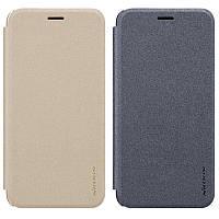 Кожаный чехол (книжка) Nillkin Sparkle Series для Asus Zenfone 4 Selfie (ZB553KL / ZD553KL)