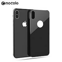 "Защитное цветное 3D стекло Mocolo на заднюю панель для Apple iPhone X (5.8"")"