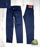 Нарядный праздничный костюм Polo на мальчика 3-4 года: голубая рубашка и синие брюки, фото 5