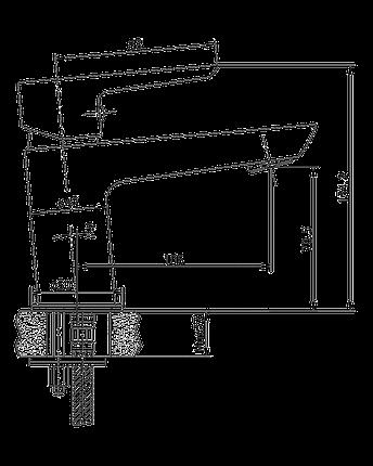 Смеситель для раковины Imprese Breclav, фото 2