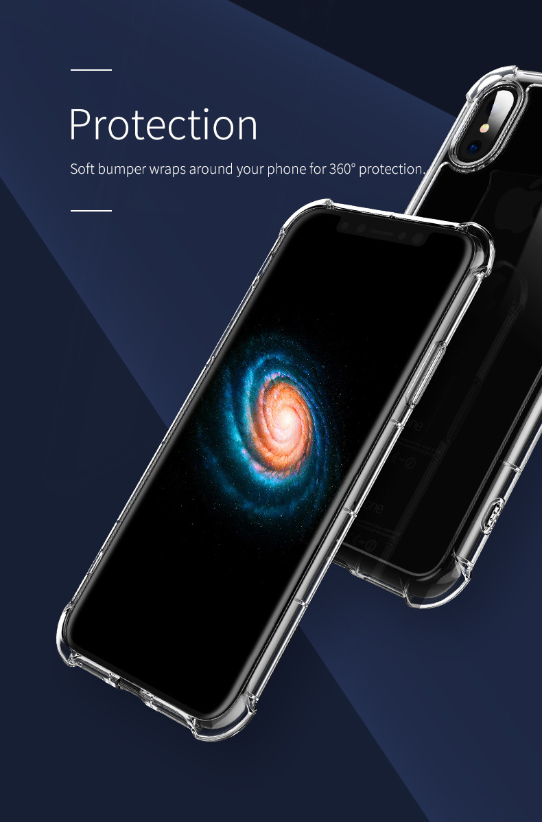 "TPU чехол ROCK Fence Pro series для Apple iPhone X (5.8"")"