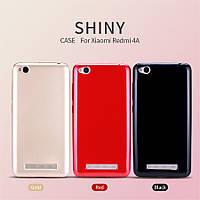 Силиконовый чехол T-phox Shinny series (глянец) для Xiaomi Redmi 4a