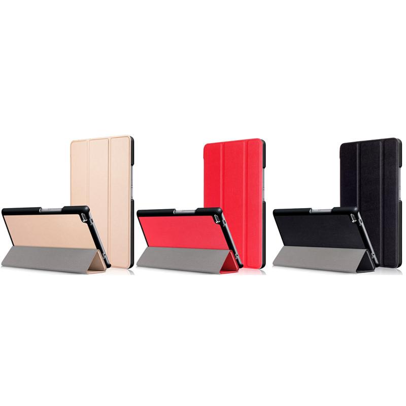 """Кожаный чехол-книжка TTX (Super slim) для Lenovo Tab 4 8"""""""