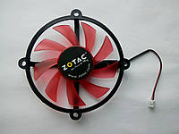 Вентилятор №21 (кулер) для видеокарты Zotac GTX 550 ti 550ti GTS 450 250 R128015DM GA82B2H PLA08015D12HH