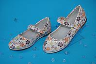 Туфли на липучке для девочек (размер 27-31) 30