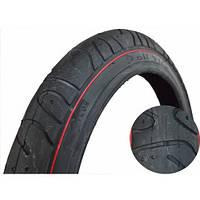 "Покрышка 16""х2.125 (57-305) Deli Tire гладкая/слики"