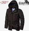 Куртка мужская Braggart Dress Code - 2161#2160 шоколад