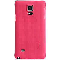 Чехол Nillkin Frosted Shield для Samsung Galaxy Note 4 N910H Red