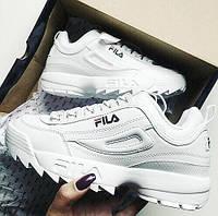 Женские кроссовки Fila Disruptor II White