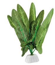 Растение шелковое для аквариума Ferplast (Ферпласт) NUPHAR Нупар пластик BLU 9074, 10 см