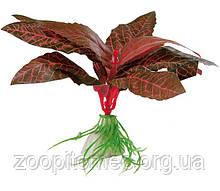 Рослина для акваріума Ferplast (Ферпласт) Althernanthera Альтернантера пластик BLU 9075, 10 см