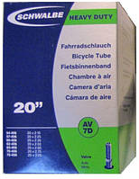 """Камера 20"""" (54/75x406) a/v 40мм Schwalbe AV7D TR4 DOWNHILL EK"""