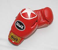 Перчатки боксерские CLUB STAR  BWS PVC (8 oz красный)