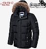 Мужская куртка зима Braggart Dress Code - 3146#3145 черный