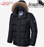 Мужская куртка зима Braggart Dress Code - 3146#3145 черный, фото 1