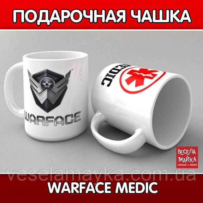 "Чашка ""Warface medic"""