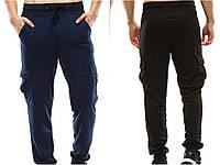 Спортивные штаны на манжете , с карманами карго