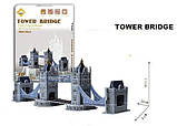 Конструктор - 3D Puzzle world's Great Architecture Tower Bridge, фото 3