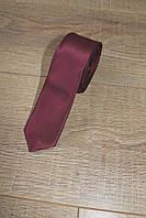 Мужской галстук, однотонный