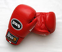 Перчатки боксерские RING BWS  (12 oz красный)