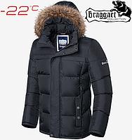 Куртка мужская зимняя Braggart Dress Code - 3146#3145 графит, фото 1