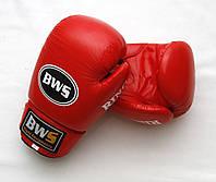 Перчатки боксерские RING BWS  (10 oz красный)