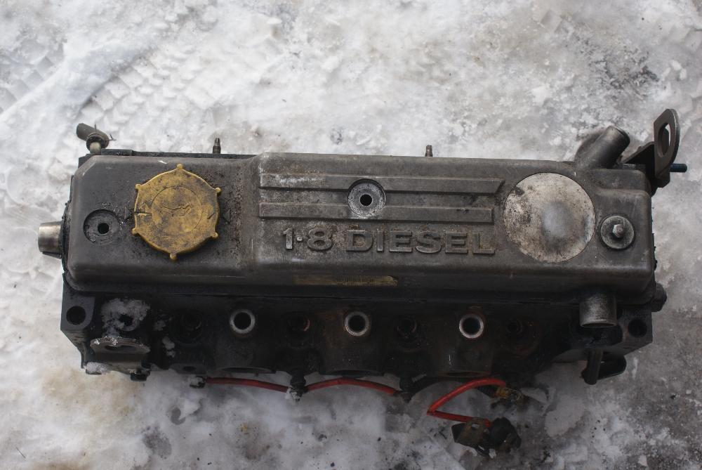 Головка блока цилиндра ГБЦ форд ескорт орион фиеста