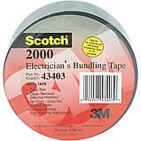 Монтажная лента 3М Scotch 2000. 50 мм. х 46 м. х 0.15 мм. Универсальная электротехническая лента для фиксации, фото 2