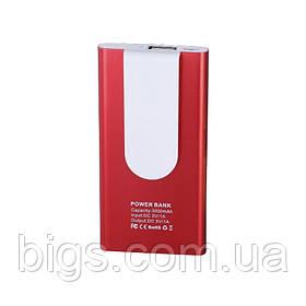 Power bank 3000 мА/г 1A ( внешний аккумулятор ) Красный