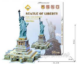 Конструктор - 3D Puzzle World's Great Architecture Статуя Свободы (Statue of Liberty)
