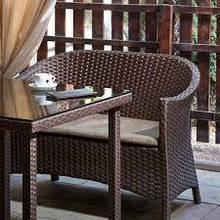 Мебель из искусственного ротанга.