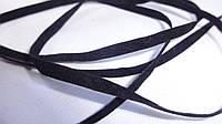 Шнур замш 3 мм черный, коричневый