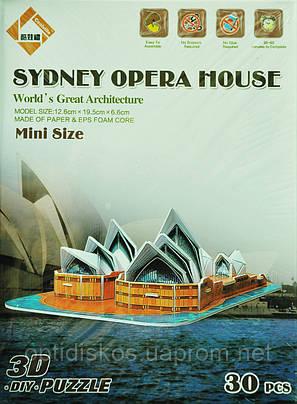 Конструктор - 3D Puzzle World's Great Architecture Сиднейская Опера (Sydney Opera House), фото 2
