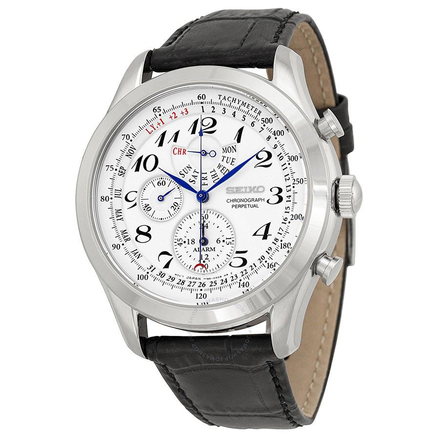 Часы Seiko SPC131P1 хронограф Quartz 7T86