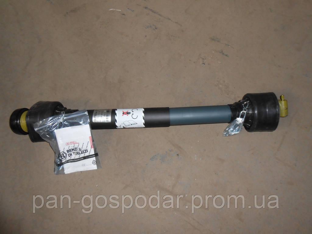 Вал карданный (кардан) 6х8 80 см. в защитном кожухе