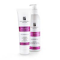 Комплекс: Восстановление поврежденных волос