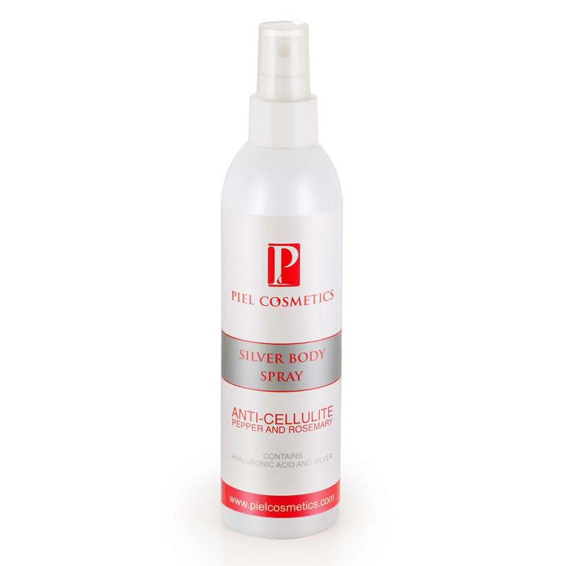 Silver Body Spray ANTICELLULITE Спрей для тела антицеллюлитный с эффектом сауны с эфирным маслом розмарина и экстрактом перца