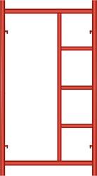 Рама с лестницей (рамные строительные леса)