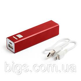Power bank 2200 мА/ч Bergamo ( внешний аккумулятор ) Красный