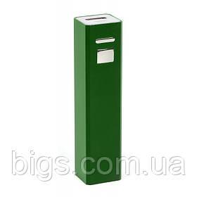 Power bank 2200 мА/ч Bergamo ( внешний аккумулятор ) Зеленый