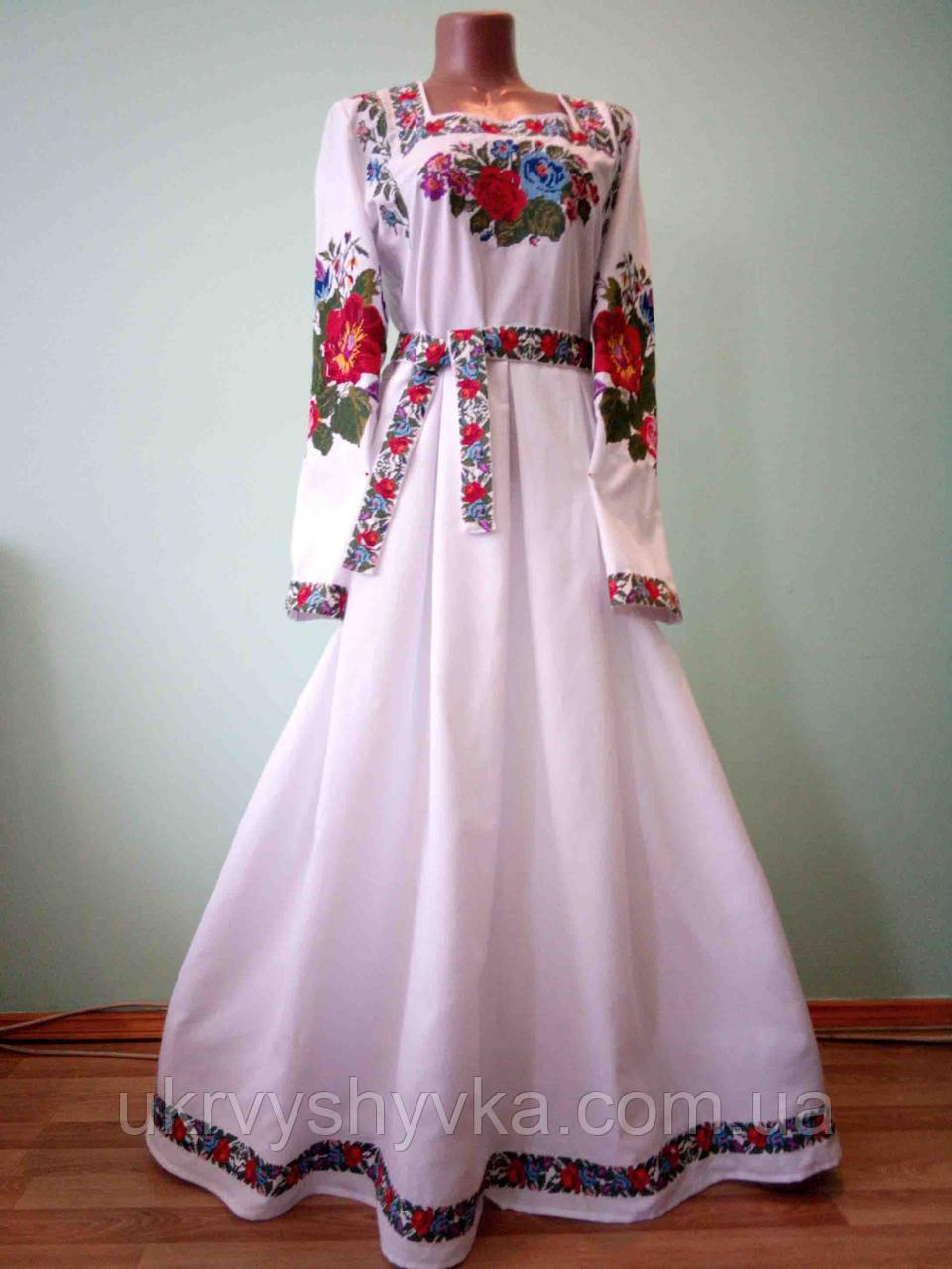 модне довге плаття