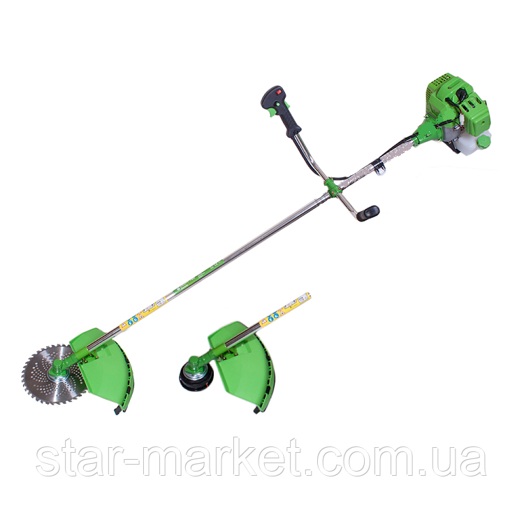 Бензокоса Craft-tec GS-777 (3300W) (диск, шпуля, рюкзак)