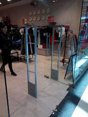 Антикражные ворота, противокражные антенны Shopguard радиочастотные, фото 3