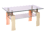 Журнальний кофейний стіл зі скла у вітальню Stella Signal , фото 2