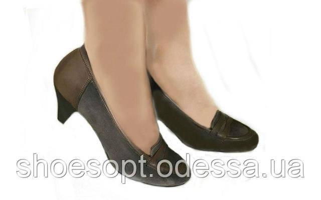 af1acda60540 Женские туфли замшевые на среднем каблуке: продажа, цена в Одессе ...
