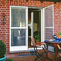 Антимоскитная  сетка на петлях (дверная), фото 1