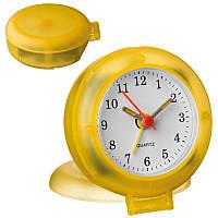 Часы настольные Macma желтые ( часы будильник )