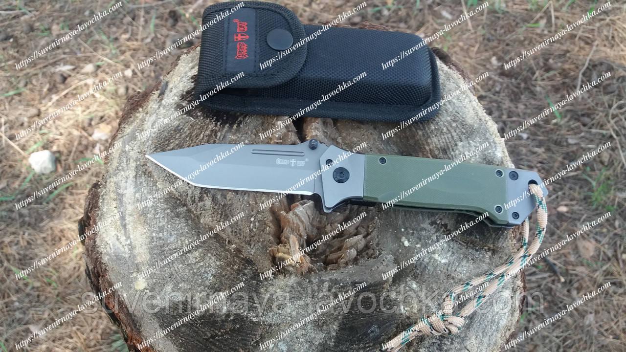 Нож складной Browning  Тактический Green New Analog